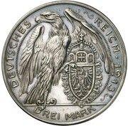3 Mark - Ludwig III (Pattern) – reverse