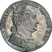 1 Conventionsthaler - Maximilian I Joseph (Bavarian Constitution - Pattern) – obverse