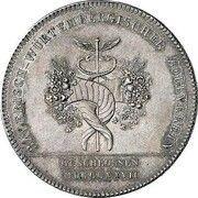 1 Conventionsthaler - Ludwig I (Geschichtstaler; Treaty Signing - Pattern) – reverse