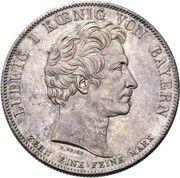 1 Conventionsthaler - Ludwig I (Geschichtstaler; Prince Otto - Pattern) – obverse