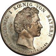 1 Conventionsthaler - Ludwig I (Geschichtstaler; Provincial Legislature) – obverse