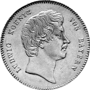 1 Kronenthaler - Ludwig I – obverse