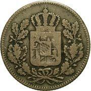 2 Pfennige - Ludwig I – obverse