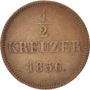½ Kreuzer - Maximilian II – reverse