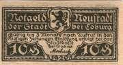 10 Pfennig (Neustadt bei Coburg) – obverse