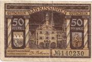50 Pfennig (Bad Kissingen) – obverse