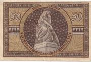 50 Pfennig (Bad Kissingen) – reverse