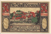 50 Pfennig (Kronach) – obverse