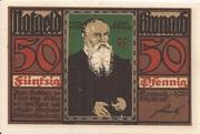 50 Pfennig (Kronach) – reverse