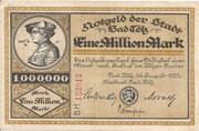 1,000,000 Mark (Bad Tölz) – obverse