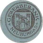 10 Pfennig (Neuburg an der Donau; Gewerbebank) – reverse