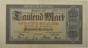 1000 Mark (Bayerische Notenbank) – obverse