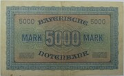 5000 Mark (Bayerische Notenbank) – reverse