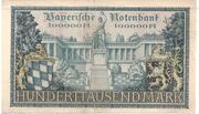 100,000 Mark (Bayerische Notenbank) – reverse