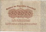 500,000 Mark (Bayerische Staatsbank) – reverse