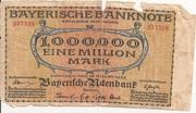 1,000,000 Mark (Bayerische Staatsbank) – obverse