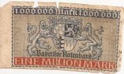1,000,000 Mark (Bayerische Staatsbank) – reverse