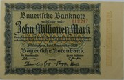 10,000,000 Mark (Bayerische Notenbank) – obverse