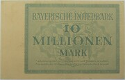10,000,000 Mark (Bayerische Notenbank) – reverse