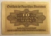 10,000,000 Mark (Bayerische Staatsbank) – reverse