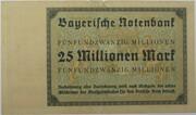 25,000,000 Mark (Bayerische Notenbank) – reverse