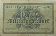 100,000,000,000 Mark (Bayerische Staatsbank) – reverse