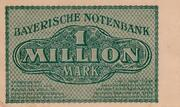 1,000,000 Mark (Bayerische Notenbank) – reverse