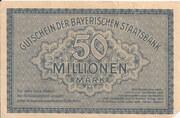 50,000,000 Mark (Bayerische Staatsbank) – reverse