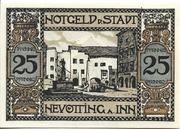 25 Pfennig (Neuötting) – reverse