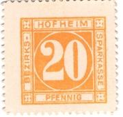 20 Pfennig (Hofheim in Mainfranken; Bezirks-Sparkasse) – obverse