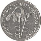 100 Francs CFA – obverse