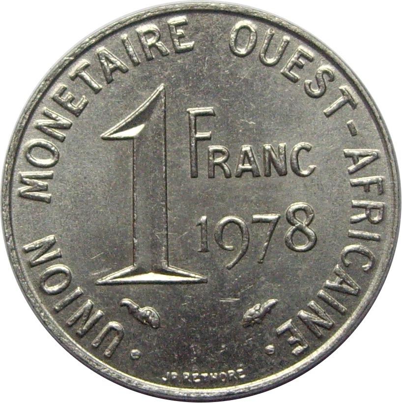 1 Franc Cfa