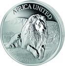 1500 Francs CFA (African Unity) – reverse