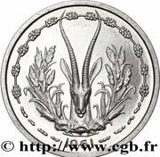 1 Franc CFA (Essai) – reverse