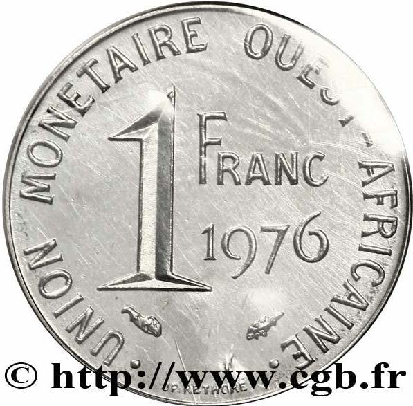1 Franc Cfa Essai