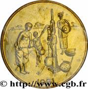 10 Francs CFA (FAO; Essai) – reverse