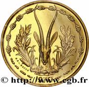 25 Francs CFA (Essai) – reverse