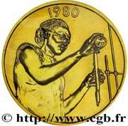 25 Francs CFA (FAO; Essai) – reverse