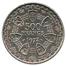 500 Francs CFA (Monetary Union) – reverse