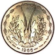 10 Francs CFA – reverse