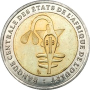 200 Francs CFA – obverse