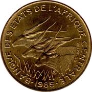 10 Francs CFA – obverse