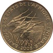5 Francs CFA -  obverse