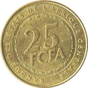 25 Francs CFA -  obverse