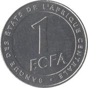 1 Franc CFA – reverse