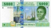 5,000 Francs – obverse