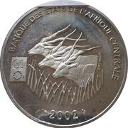 1000 Francs CFA (Introduction Euro) – obverse