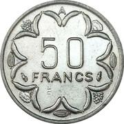 50 Francs CFA – reverse