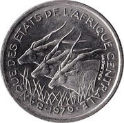 50 Francs CFA – obverse