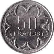 50 Francs CFA -  reverse